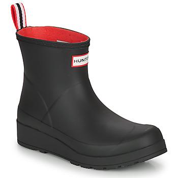 Pantofi Femei Cizme de ploaie Hunter WOMENS ORIGINAL INSULATED PLAY SHORT Negru
