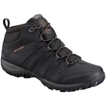 Pantofi Bărbați Drumetie și trekking Columbia Woodburn II Chukka Waterproof Negre