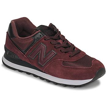 Pantofi Femei Pantofi sport Casual New Balance 574 Roșu-bordeaux