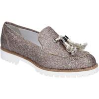 Pantofi Femei Mocasini Vsl BS62 Argint
