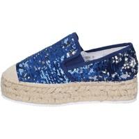 Pantofi Femei Mocasini Francescomilano BS75 Albastru