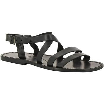 Pantofi Bărbați Sandale  Gianluca - L'artigiano Del Cuoio 531 U NERO CUOIO nero