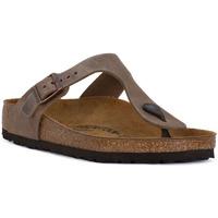 Pantofi Femei  Flip-Flops Birkenstock GIZEH BROWN OILED Marrone