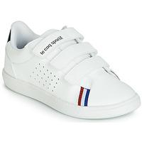 Pantofi Copii Pantofi sport Casual Le Coq Sportif COURTSTAR PS SPORT BBR Alb