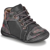 Pantofi Fete Ghete GBB OLSA Gri / Roz