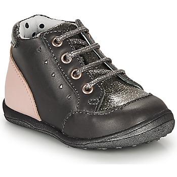 Pantofi Fete Ghete Catimini CLELIA Gri / Roz