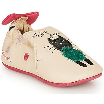 Pantofi Fete Papuci de casă Catimini CALICETTE Bej / Roz