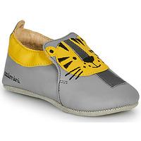 Pantofi Băieți Papuci de casă Catimini CALINOU Gri / Galben