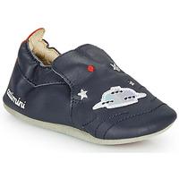 Pantofi Băieți Papuci de casă Catimini CASPARO Bleumarin
