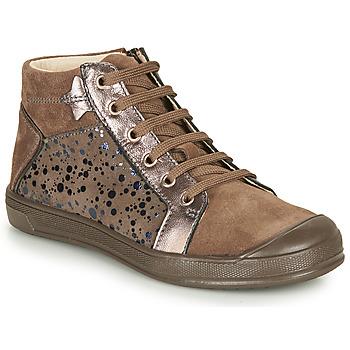 Pantofi Fete Pantofi sport stil gheata GBB ORENGETTE Taupe