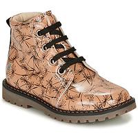 Pantofi Fete Ghete GBB NAREA Roz / Negru