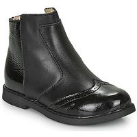 Pantofi Fete Ghete GBB OURIETTE Negru