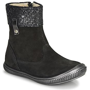 Pantofi Fete Ghete GBB ORANTO Negru