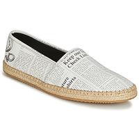 Pantofi Bărbați Espadrile John Galliano 6715 Alb