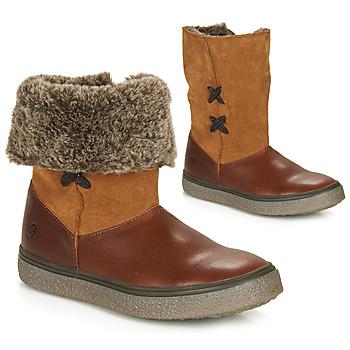 Pantofi Fete Ghete GBB OLINETTE Maro