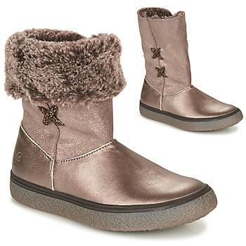Pantofi Fete Ghete GBB OLINETTE Auriu