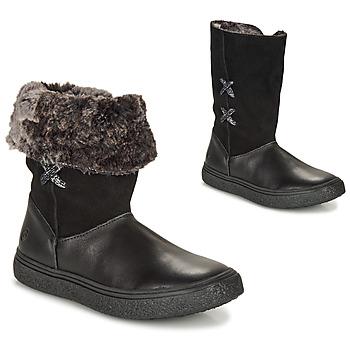 Pantofi Fete Ghete GBB OLINETTE Negru