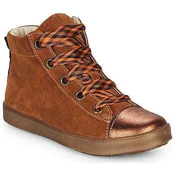 Pantofi Fete Pantofi sport stil gheata GBB OUSTILLE Coniac