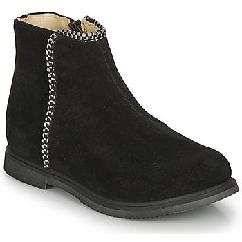 Pantofi Fete Ghete GBB OJIMA Negru