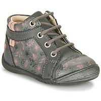 Pantofi Fete Ghete GBB OMANE Gri / Roz