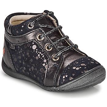 Pantofi Fete Ghete GBB OMANE Albastru / Argintiu