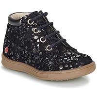 Pantofi Fete Ghete GBB NINON Bleumarin / Argintiu