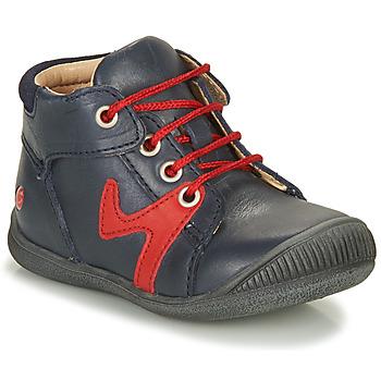 Pantofi Băieți Ghete GBB OVELO Bleumarin / Roșu