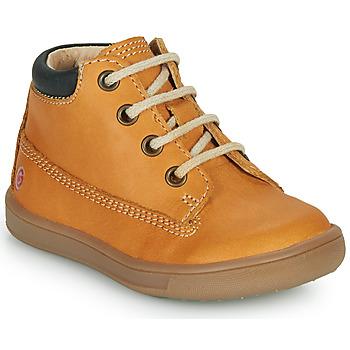 Pantofi Băieți Pantofi sport stil gheata GBB NORMAN Ocru