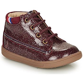 Pantofi Fete Ghete GBB FRANCETTE Roșu-bordeaux