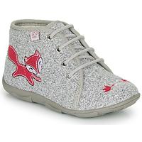 Pantofi Fete Papuci de casă GBB OTRALEE Gri / Roz