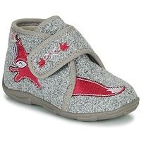 Pantofi Fete Papuci de casă GBB OCELINA Gri