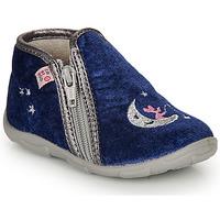 Pantofi Fete Papuci de casă GBB OLILE Albastru