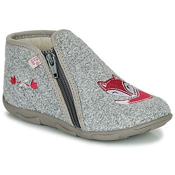 Pantofi Fete Papuci de casă GBB OLILE Gri