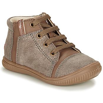 Pantofi Fete Pantofi sport stil gheata GBB OUNA Taupe