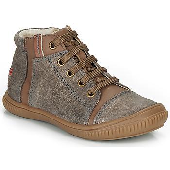 Pantofi Fete Pantofi sport stil gheata GBB OUNA Bej