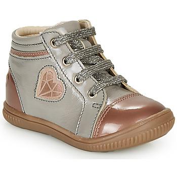 Pantofi Fete Pantofi sport stil gheata GBB OTANA Gri / Roz