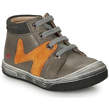 Pantofi Băieți Pantofi sport stil gheata GBB OLINOU Gri / Ocru
