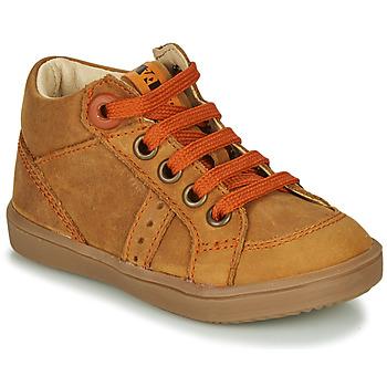 Pantofi Băieți Pantofi sport stil gheata GBB ANGELITO Coniac