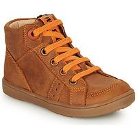 Pantofi Băieți Pantofi sport stil gheata GBB ANGELITO Coniac / Portocaliu