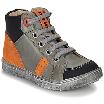 Pantofi Băieți Pantofi sport stil gheata GBB ANGELITO Gri / Portocaliu