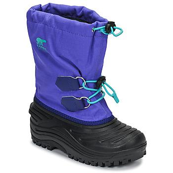 Pantofi Copii Cizme de zapadă Sorel YOUTH SUPER TROOPER™ Albastru