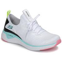 Pantofi Femei Fitness și Training Skechers FLEX APPEAL 3.0 Alb / Roz / Albastru