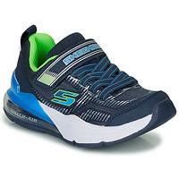 Pantofi Băieți Pantofi sport Casual Skechers SKECHERS BOY Albastru / Verde