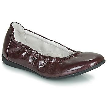 Pantofi Fete Balerin și Balerini cu curea Ramdam LIBRE Bordo