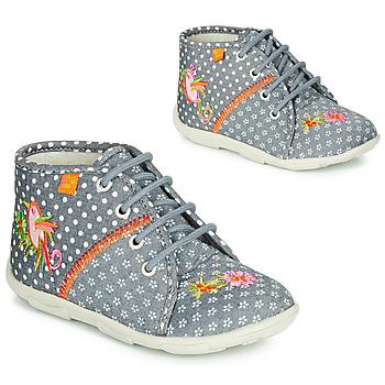 Pantofi Fete Papuci de casă GBB GANLANTINE Gri
