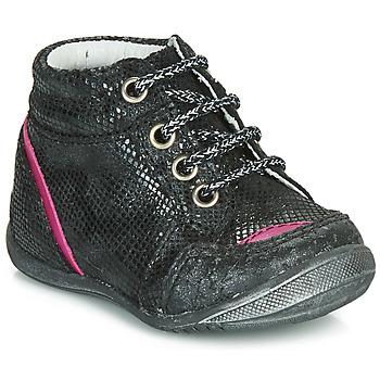 Pantofi Fete Ghete GBB LAURE Negru
