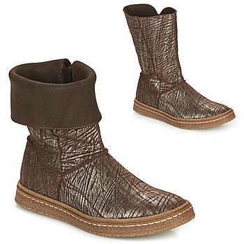 Pantofi Fete Cizme casual Ramdam CRACOVIE Maro