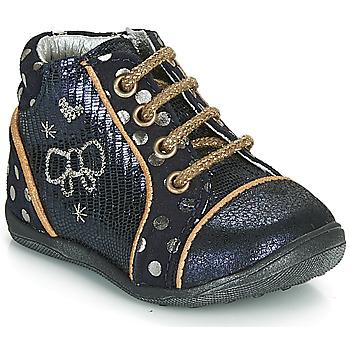 Pantofi Fete Ghete Catimini CARASSIN Bleumarin / Auriu