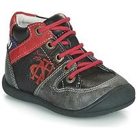 Pantofi Băieți Ghete Catimini COMATULE Negru / Roșu