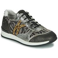 Pantofi Fete Pantofi sport Casual Ikks WHITNEY Gri / Auriu